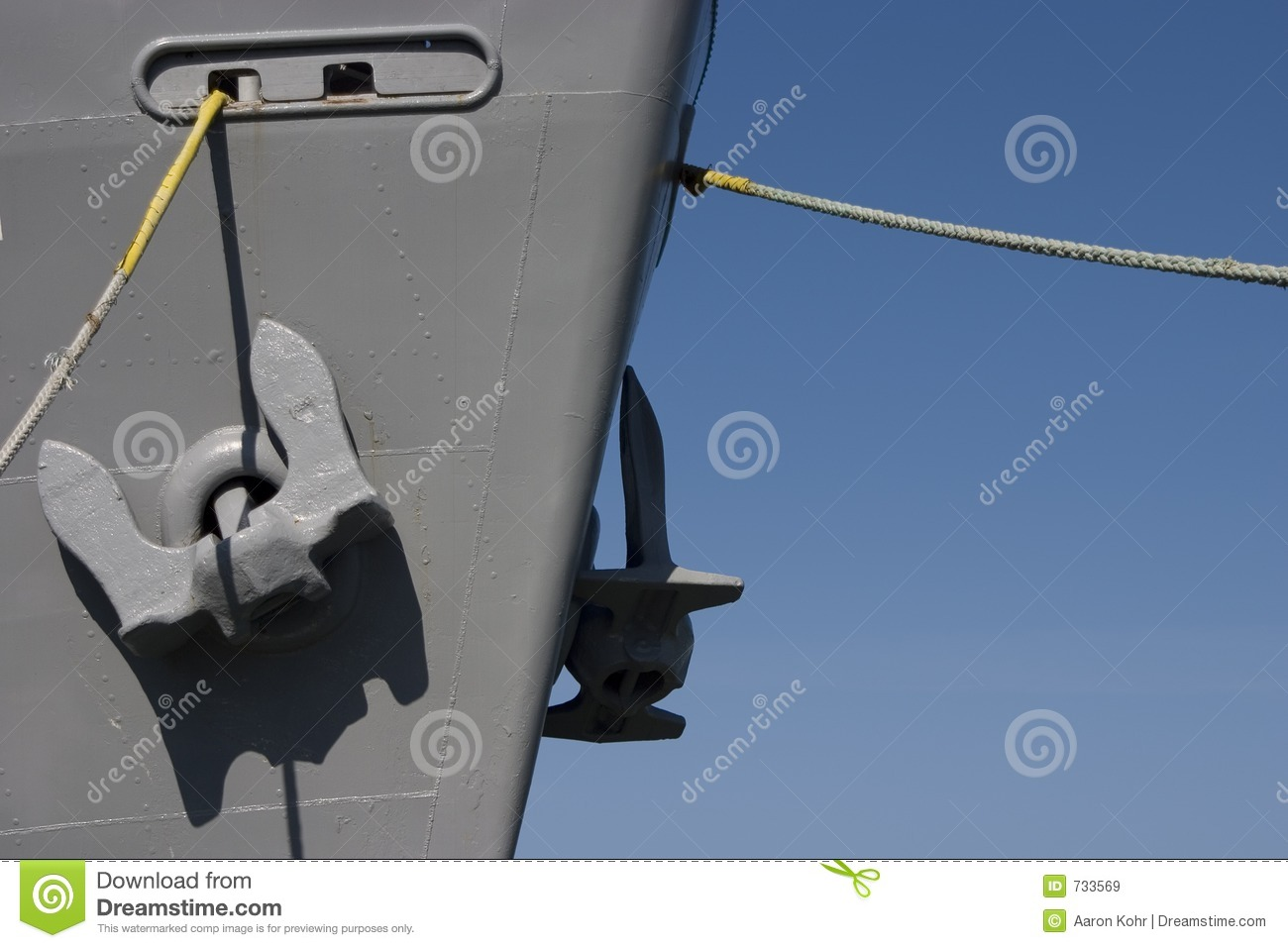 ships anchors royalty free stock images image 733569