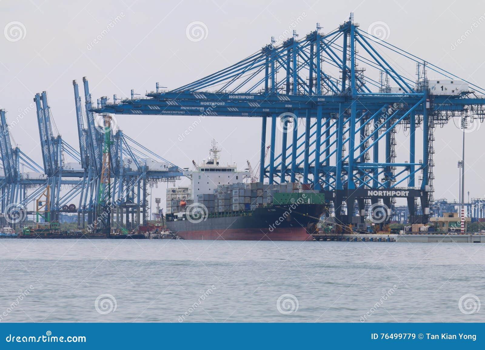 Ships at Northport, Klang, Malaysia - Series 3