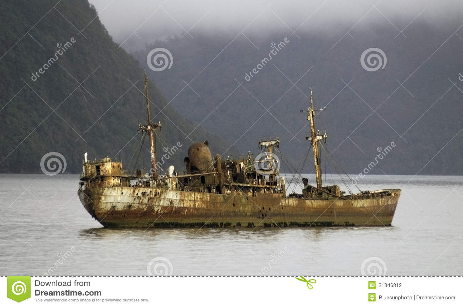 Shipwreck Stock Photo Image Of Sinking Corrosion Logos