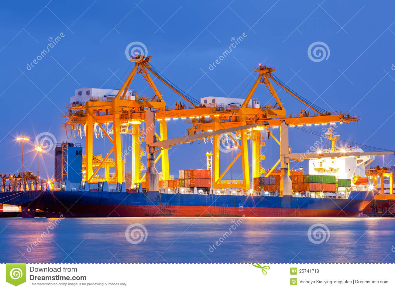 Harbor Freight Gantry Crane >> Shipyard Logistic Import Export Royalty Free Stock Photos ...