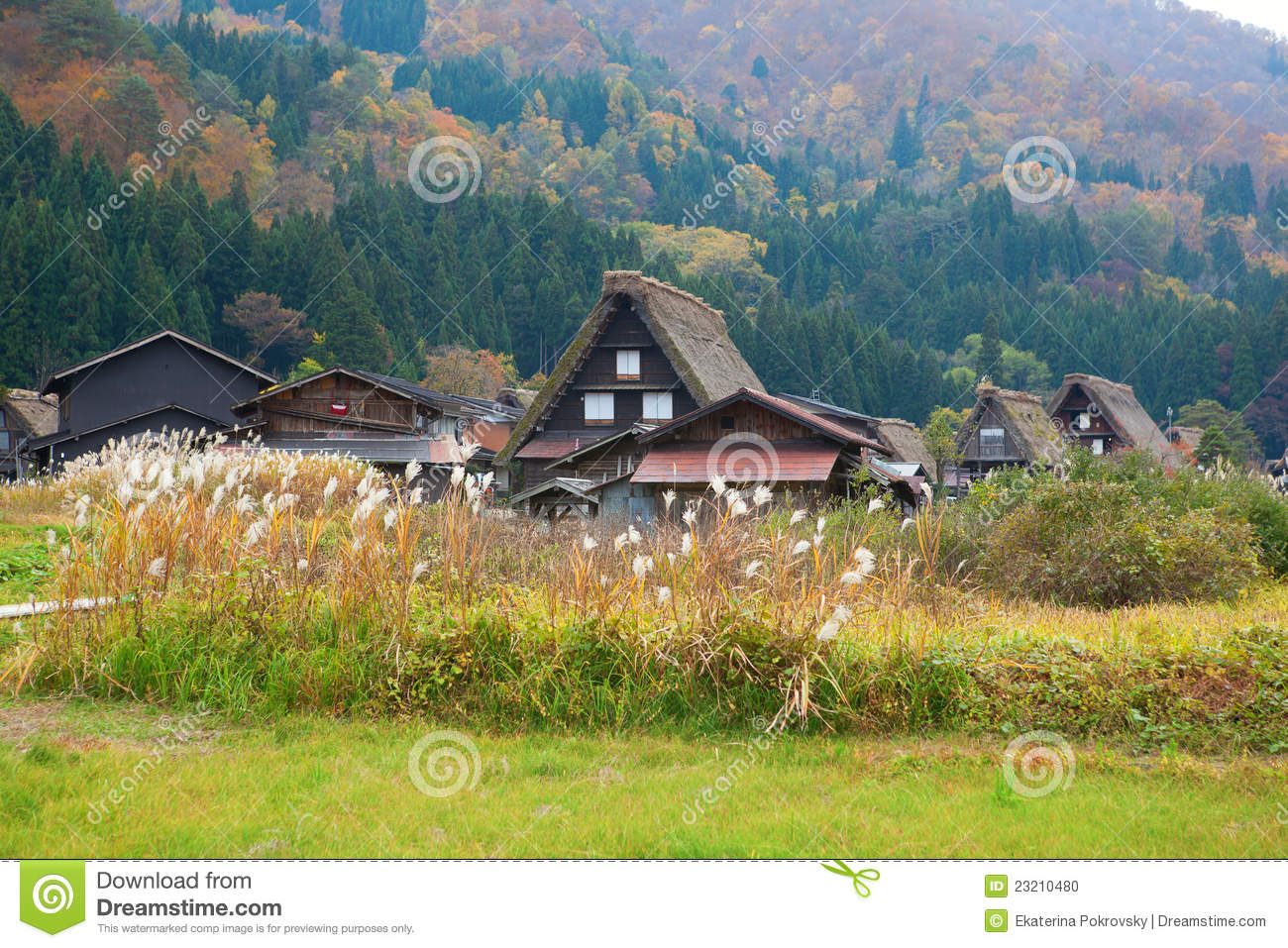 Gifu Japan  city photo : Shirakawa go, Gifu Prefecture, Japan Stock Photo Image: 23210480