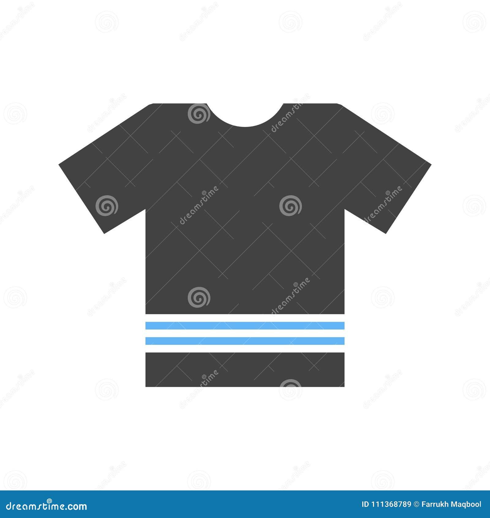 Plain T Shirt stock vector  Illustration of store, concept