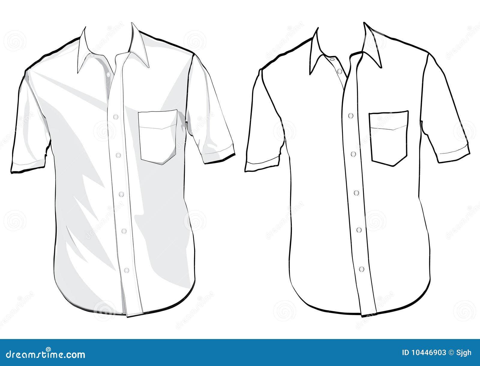 shirt template stock photos image 10446903. Black Bedroom Furniture Sets. Home Design Ideas