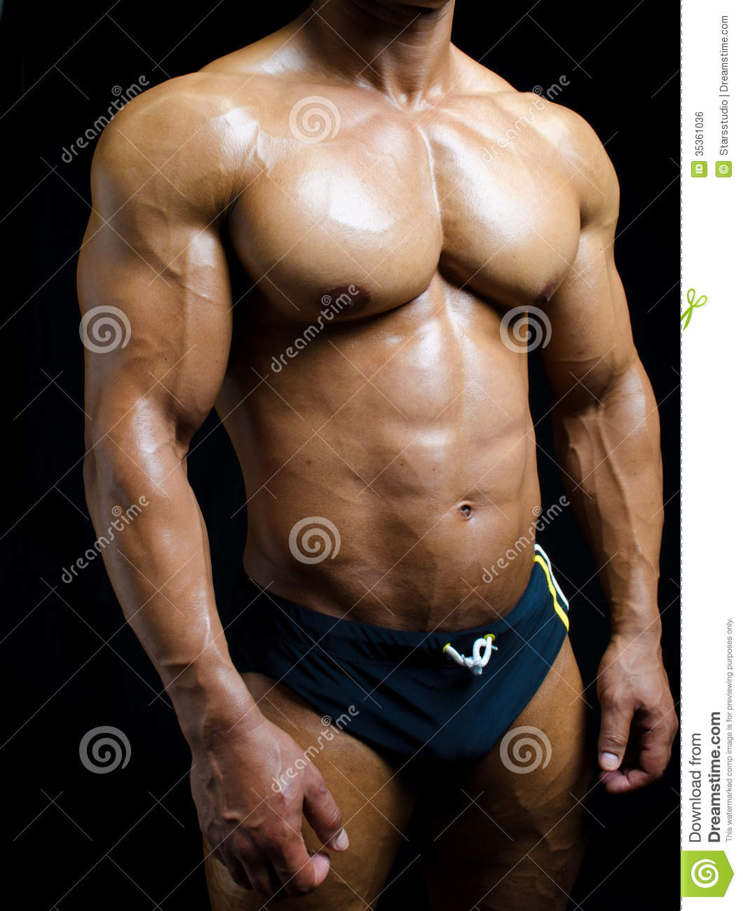 Physique ripped male Ideal Body