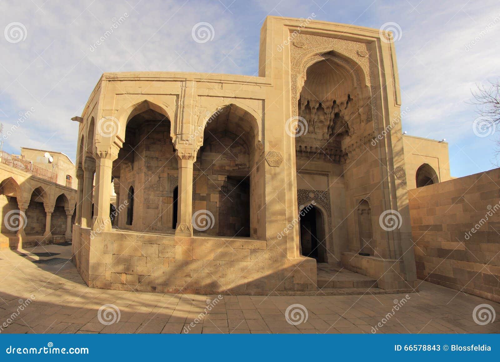 Shirvanshahs陵墓在巴库,阿塞拜疆