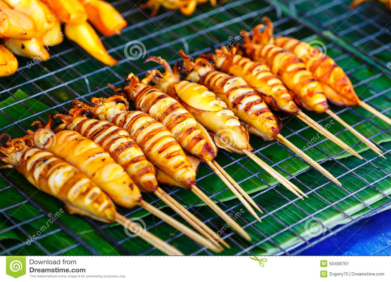 how to make seasoning stick to squid