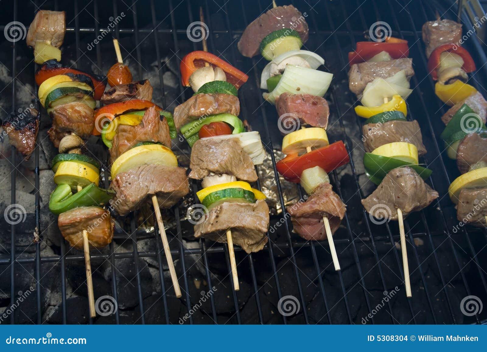 Download Shishkabobs fotografia stock. Immagine di pepe, alimento - 5308304