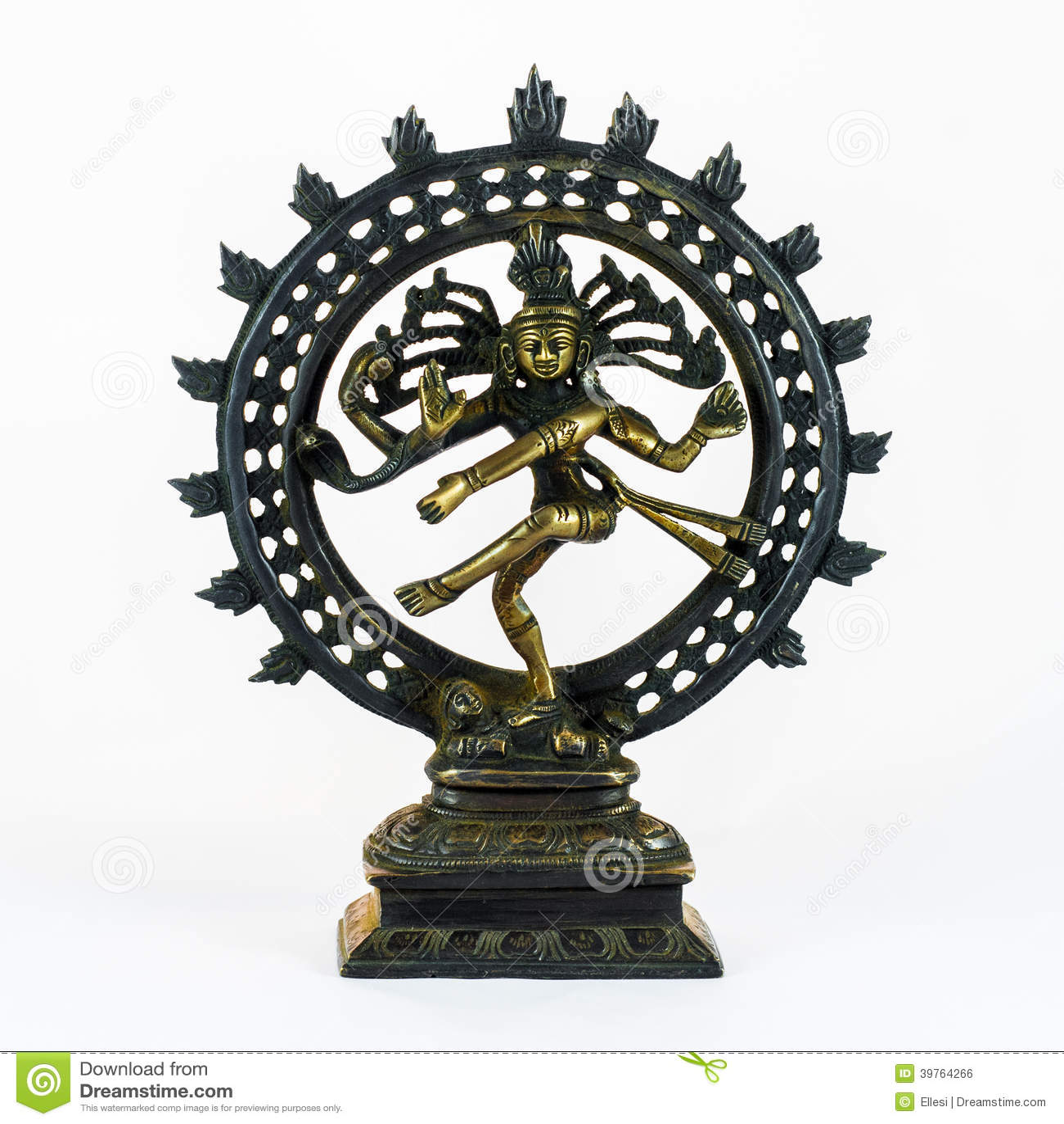 Shiva Dancing Nataraja stock photo  Image of vedic, souvenir