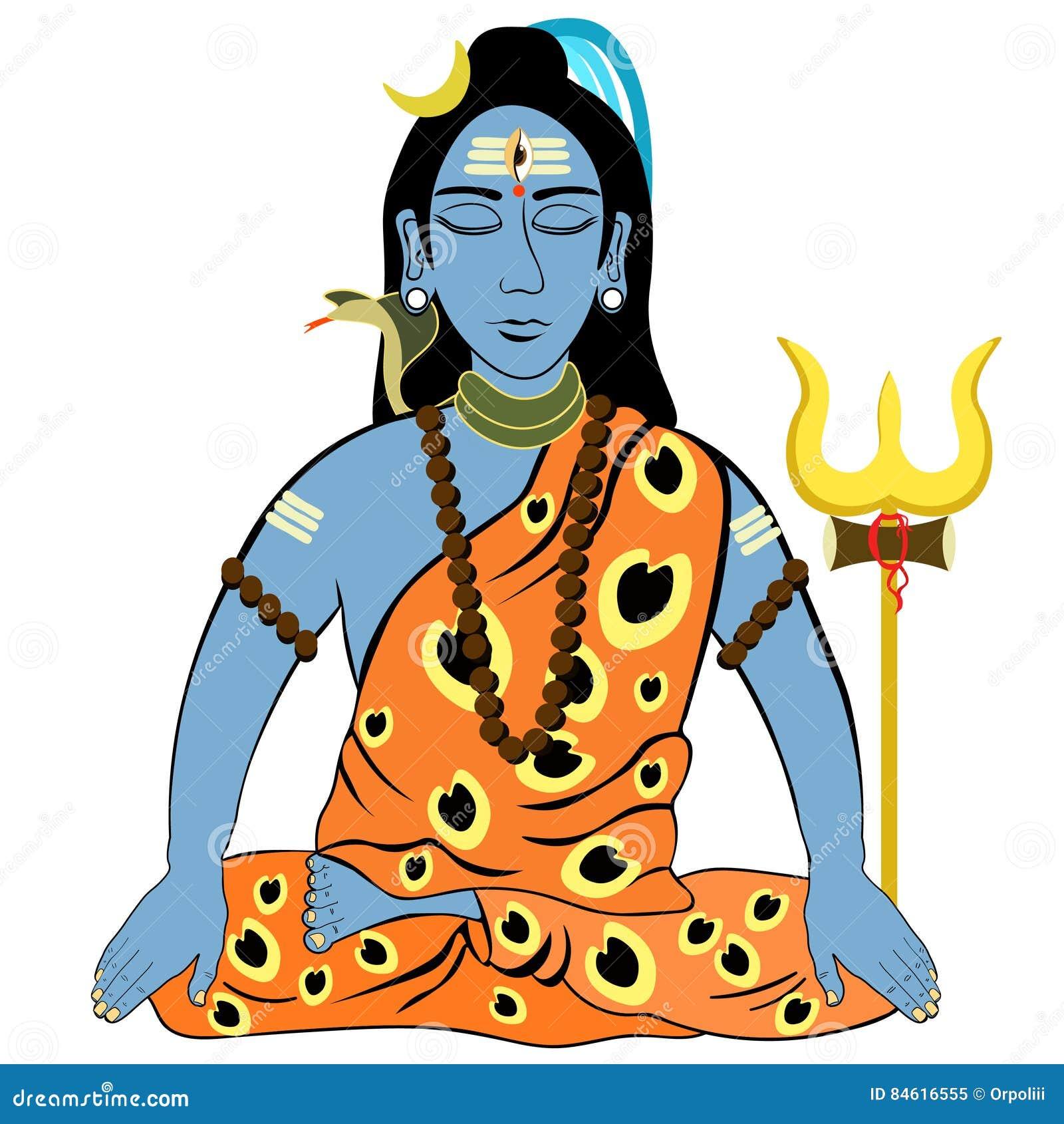 Mahadev Cartoons, Illustrations & Vector Stock Images