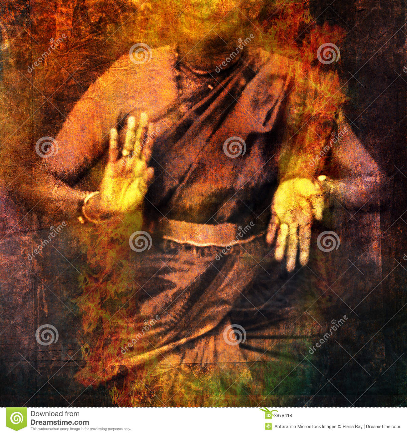 Hands in dance for Shiva with give and take mudra showing prana. Photo ...