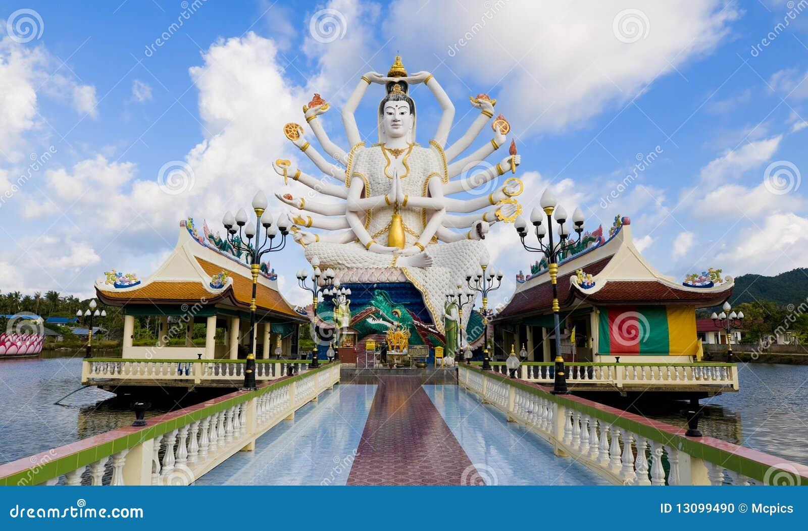 Shiva statue in koh samui