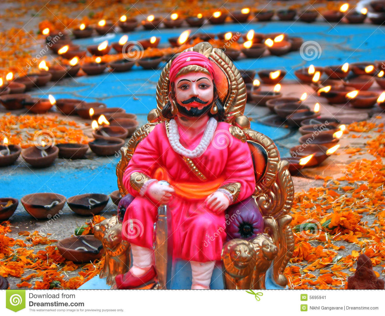 Shivaji Maharaj Photo Free Download: Shivaji Maharaj Stock Image. Image Of Designing, Flora