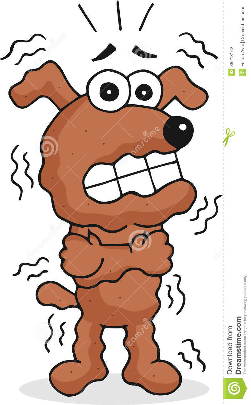 Shaking and Trembling Clip Art