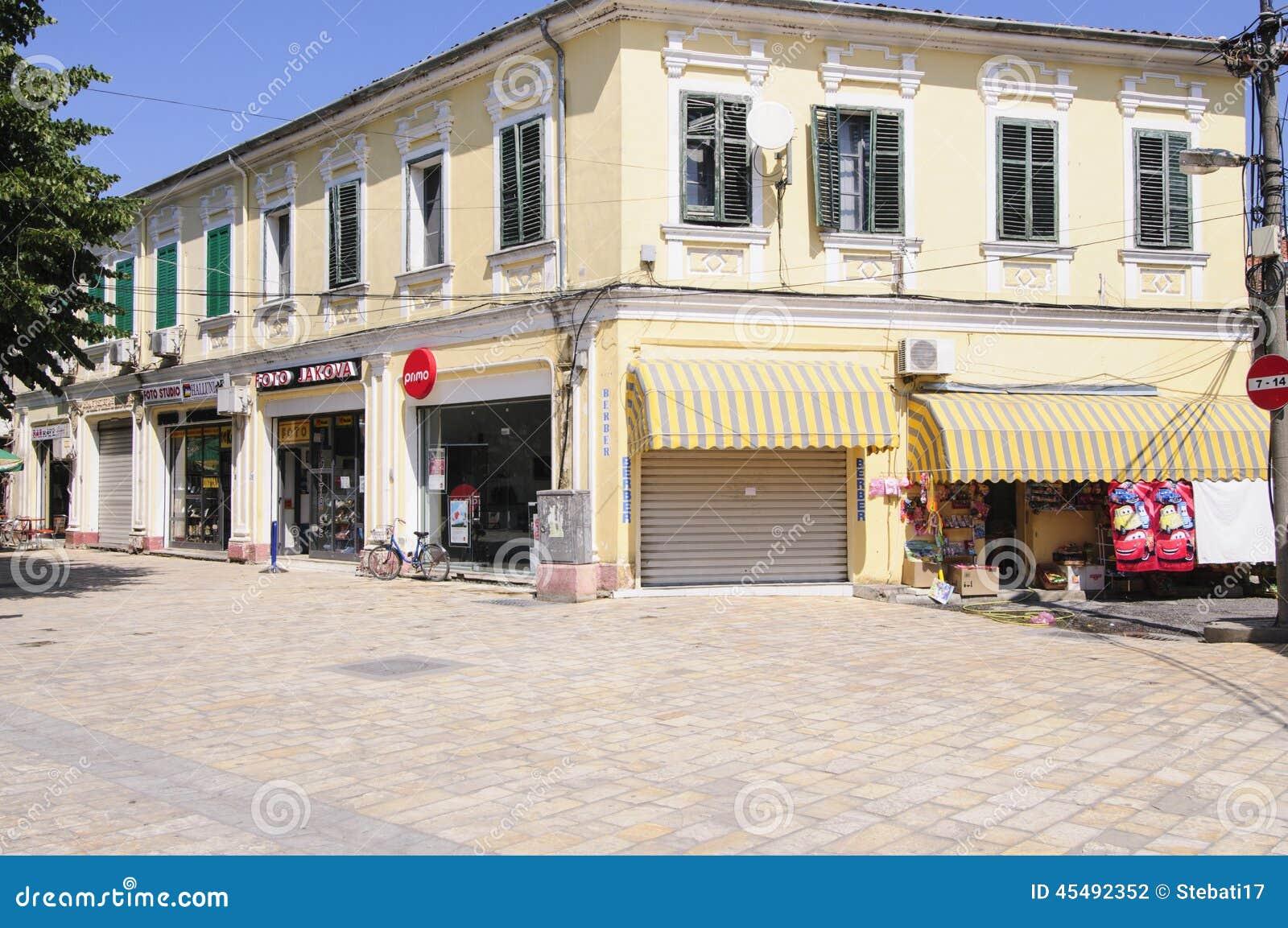 Shkoder阿尔巴尼亚欧洲的中心
