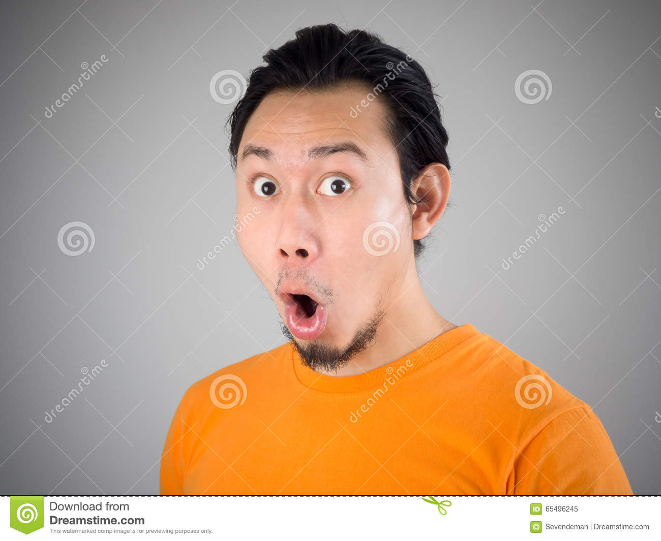Shock and surprise face. stock image. Image of people ...