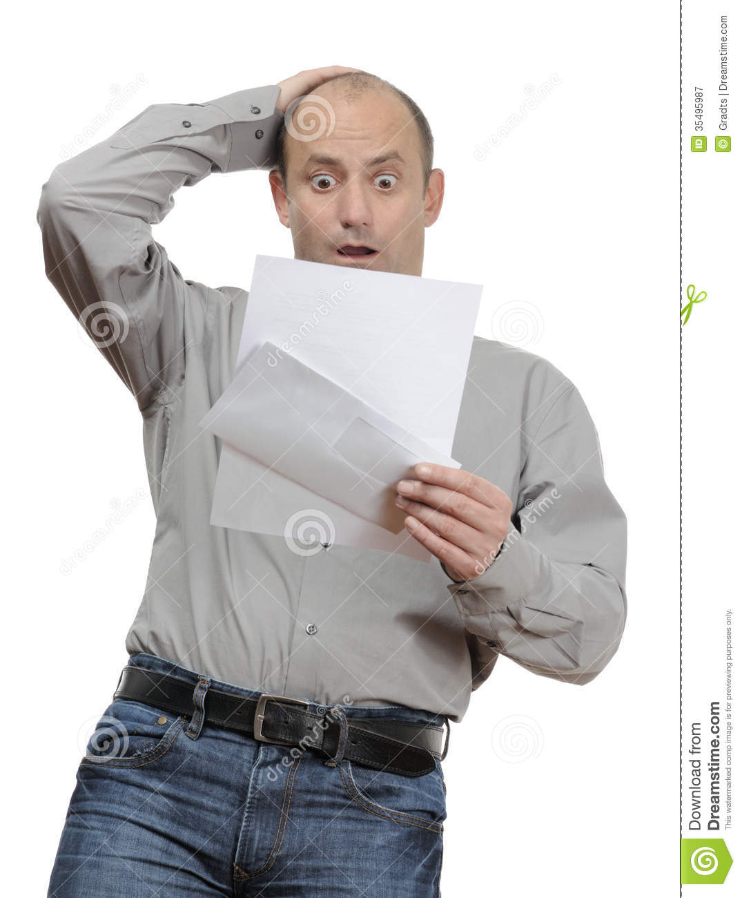 Shocked Stock Image Image Of Charges Inflation Energy