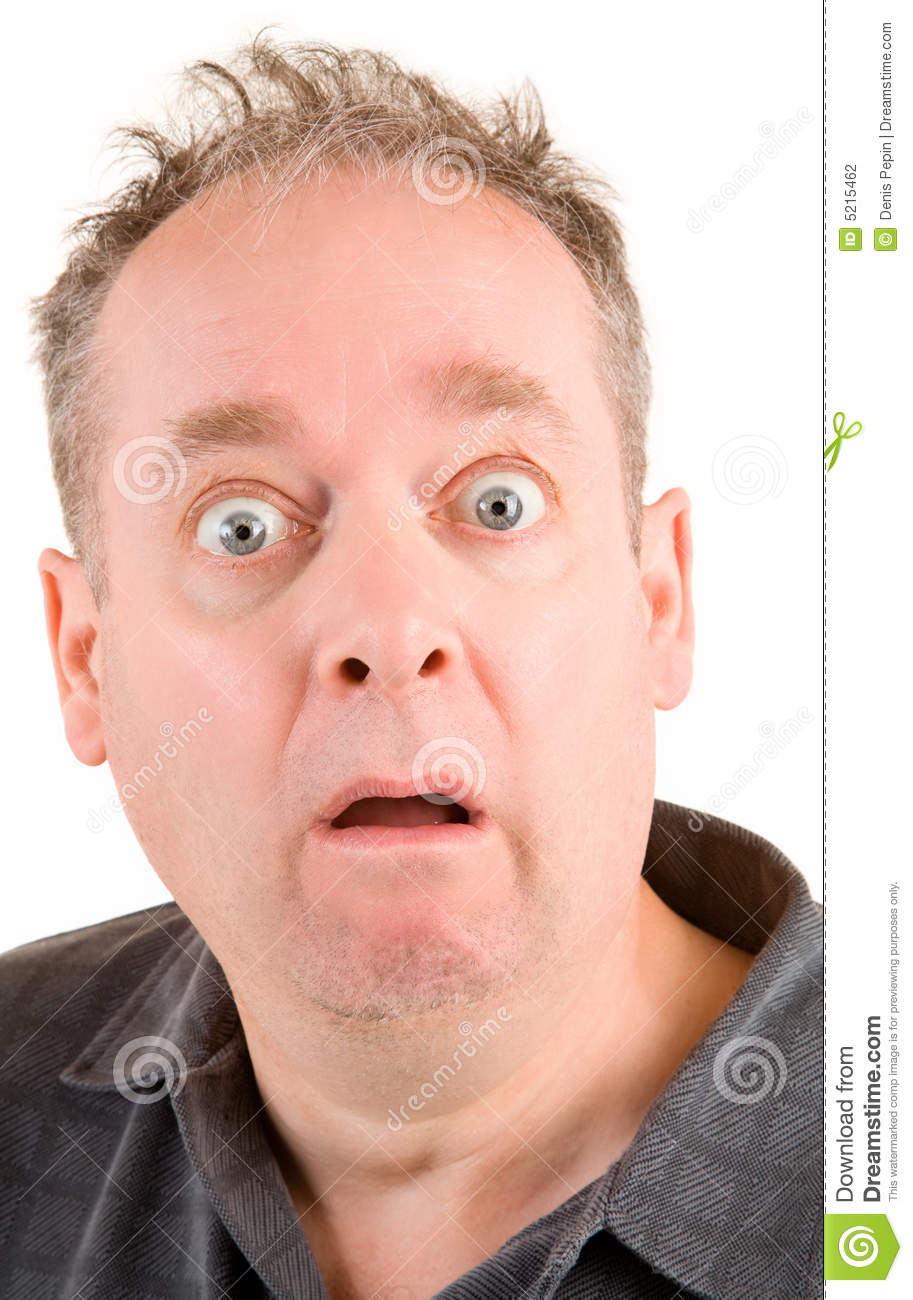 Shocked And Scared Stock Photography Image 5215462