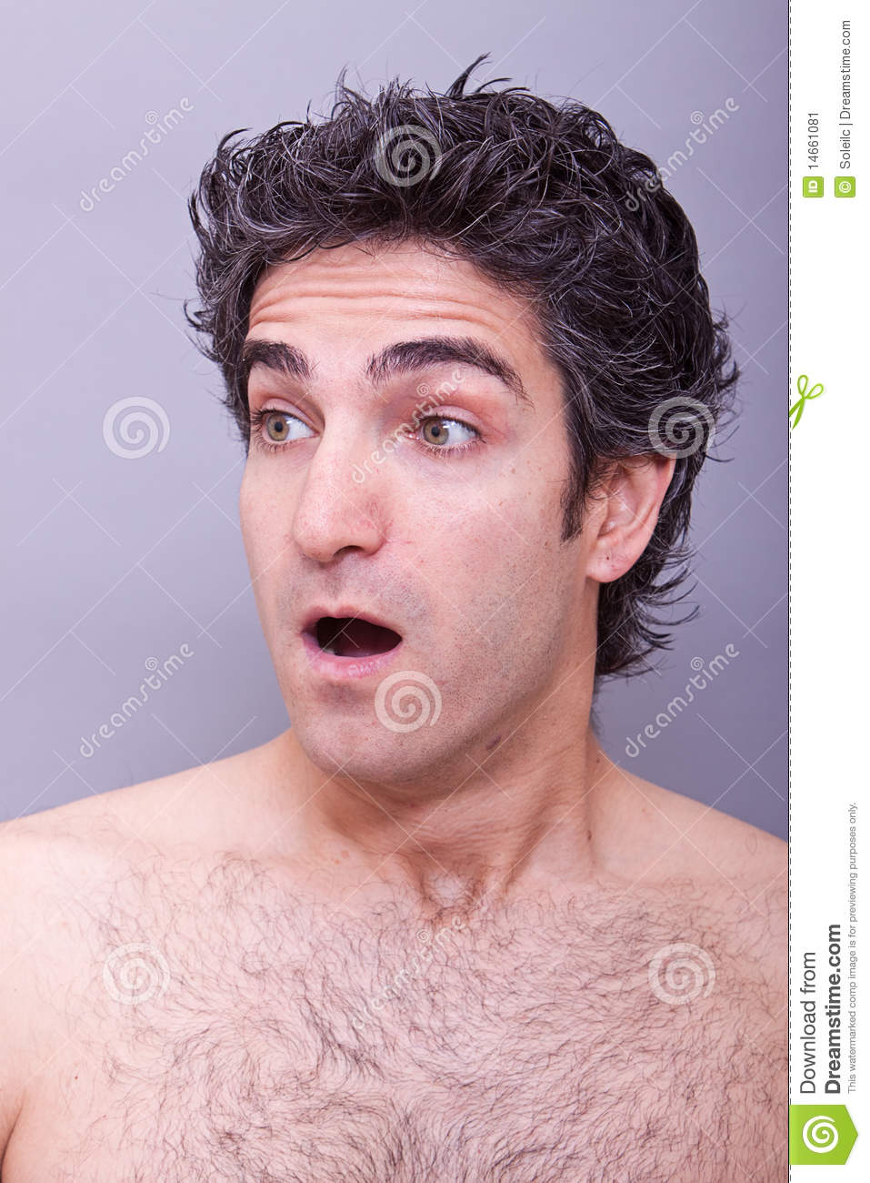 Shocked Or Surprised Facial Expression Stock Image - Image ...