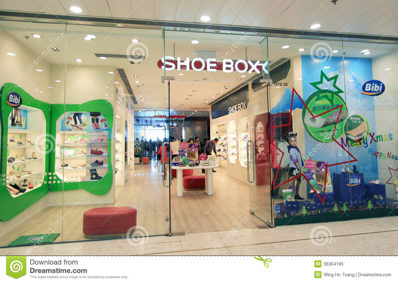 Shoe Box Shop In Hong Kong Editorial Image - Image: 36304195