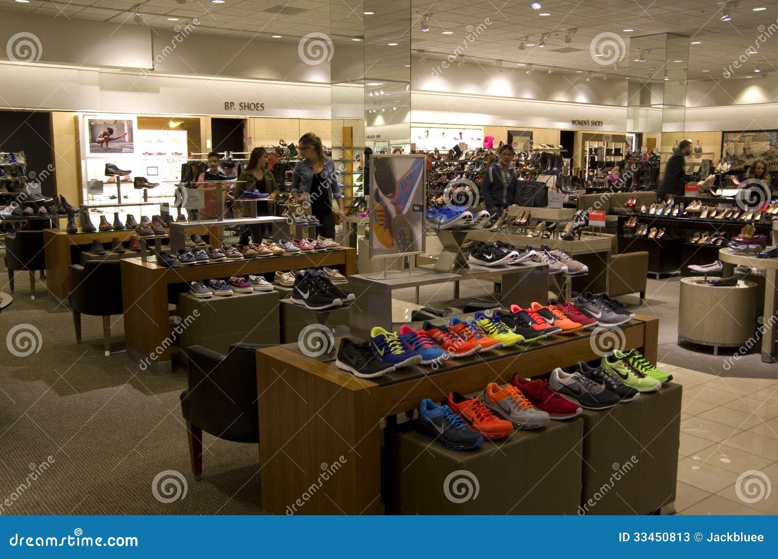 shoe department shoe store