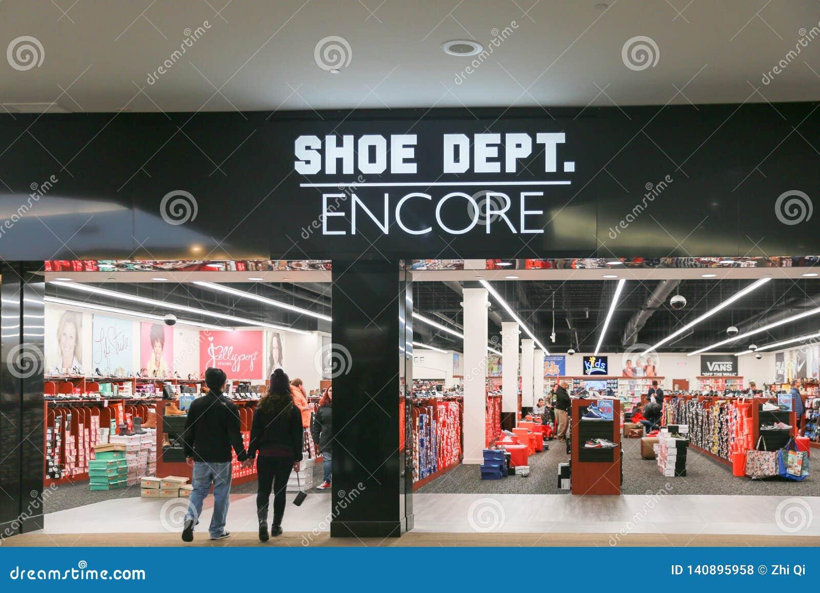 SHOE DEPT. ENCORE Storefront Editorial