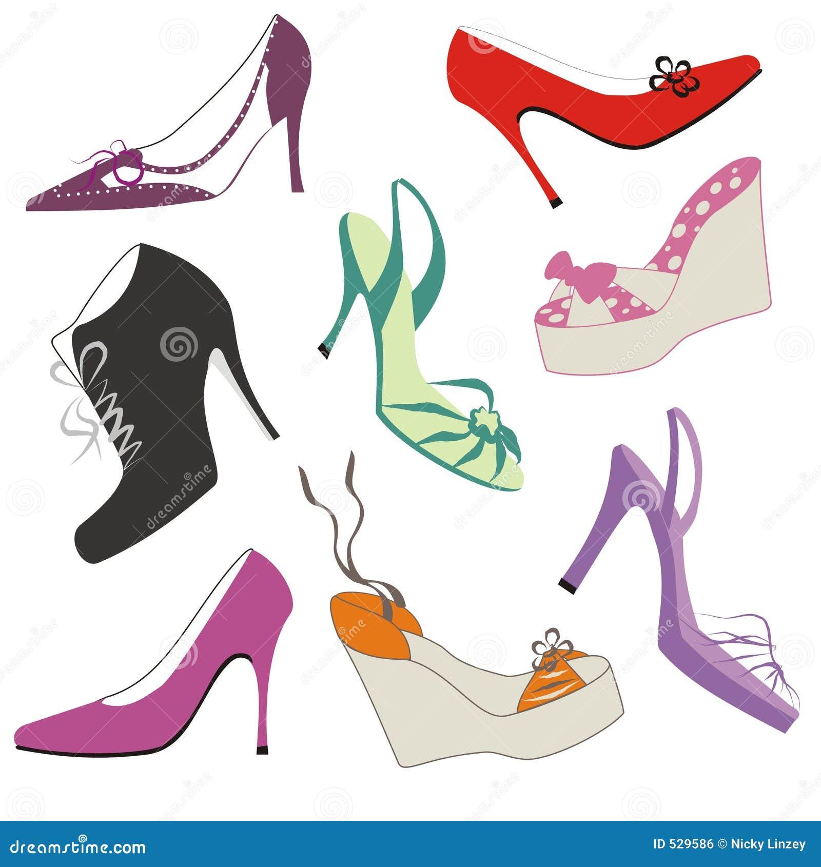 New Elad Mualem Illustration Women Shoe Illustration