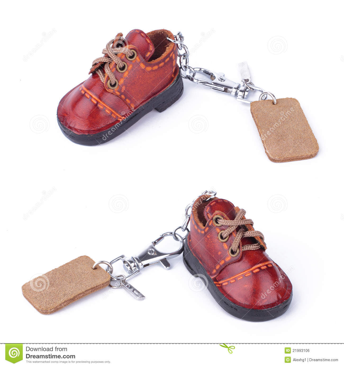 Royalty Free Stock Image: Shoe keychain