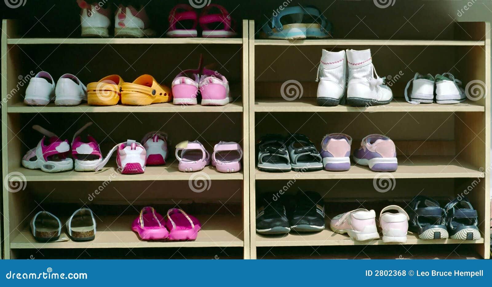 Commercial Children S Shoe Rack