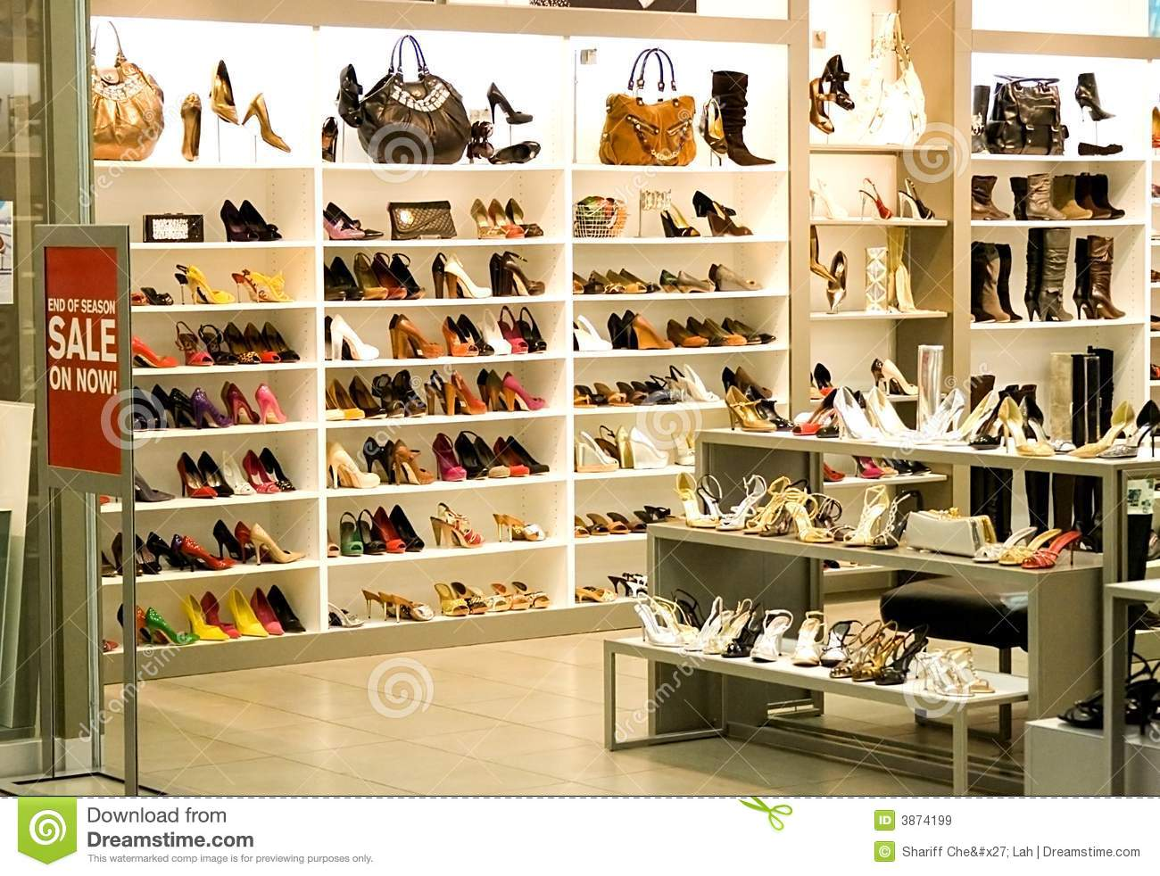 973a430a183 Shoe Shop stock image. Image of style, footwear, shopping - 3874199