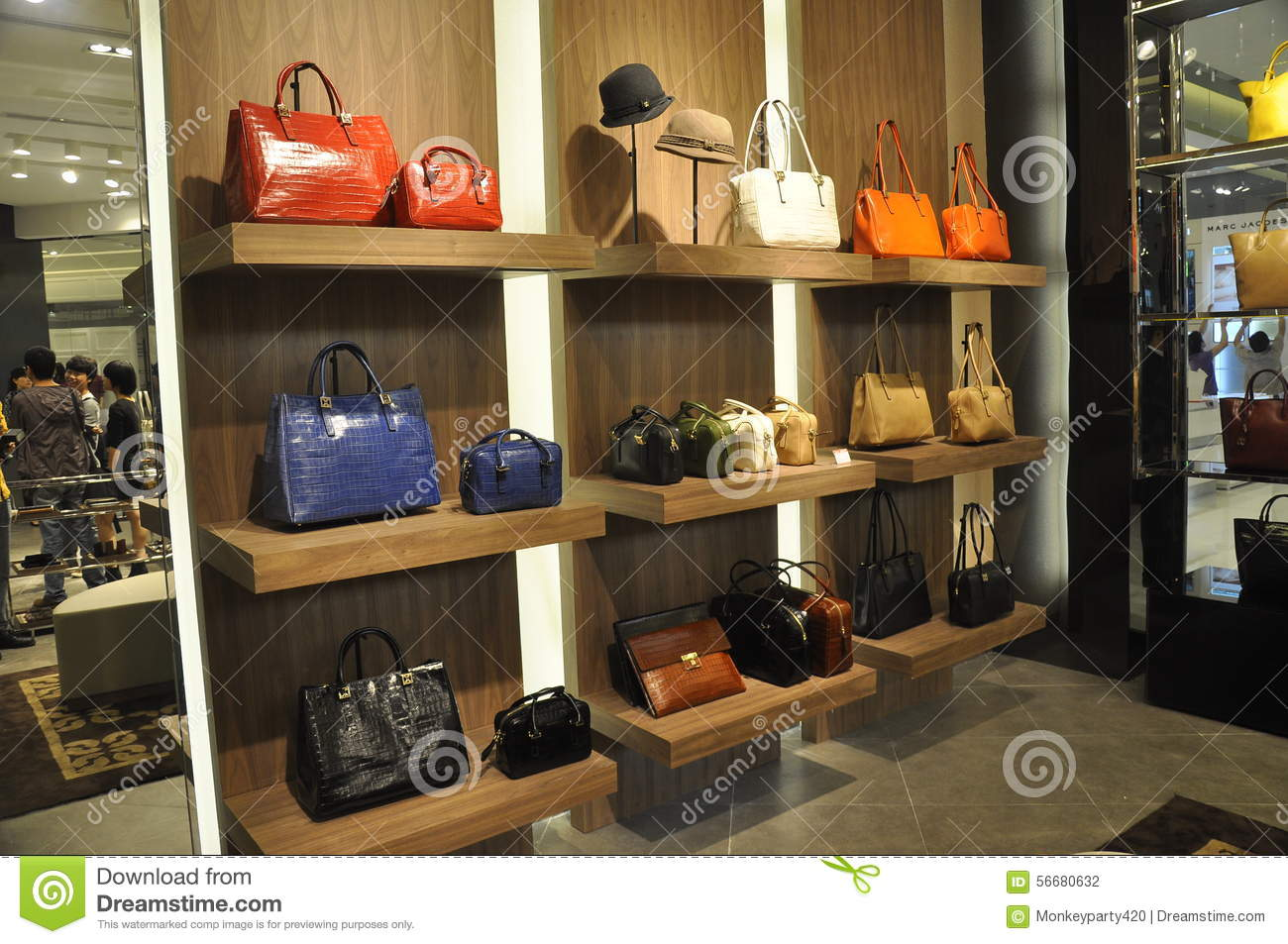 Shoes And Bags In Store Editorial Photography - Image: 56680632