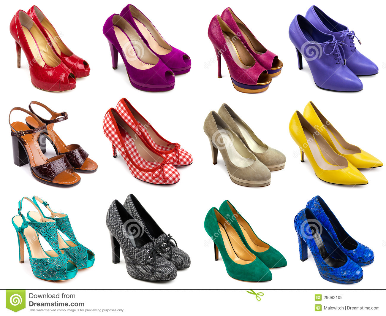 Shoes Collection-3 Royalty Free Stock Images