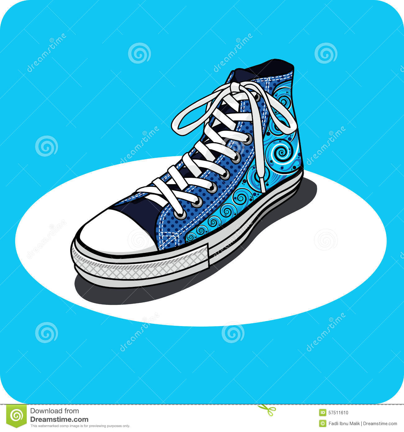 Stock Illustration Converse All Shoes Star Illustration Of tWO0tqP