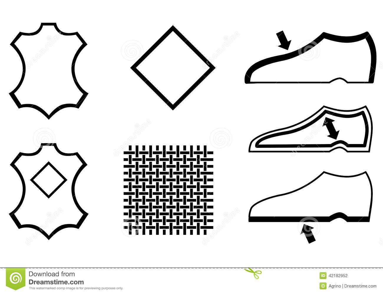 Symbol For Leather Upper On Shoes