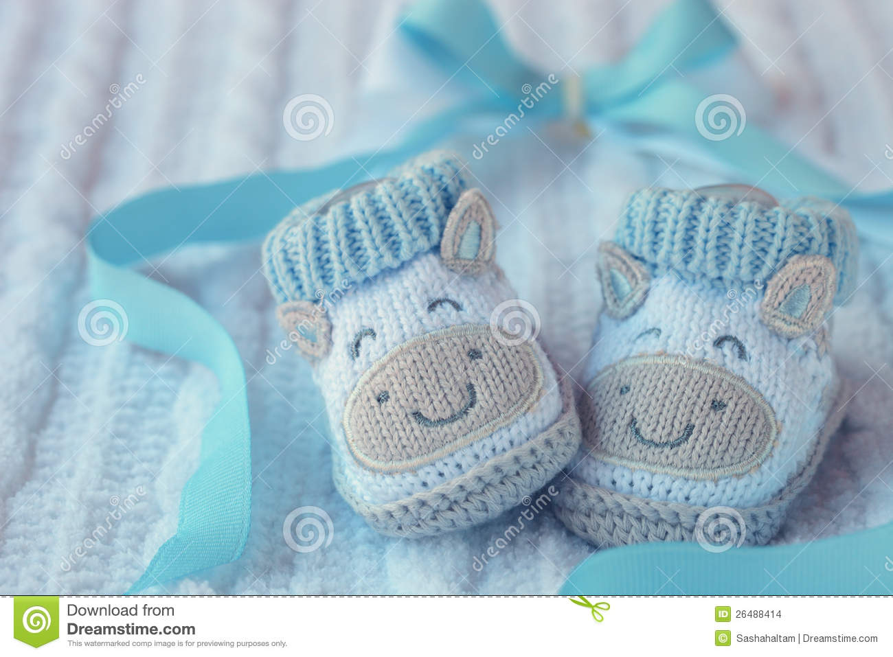 Shoes For Newly Born Baby Boy Stock Images - Image: 26488414