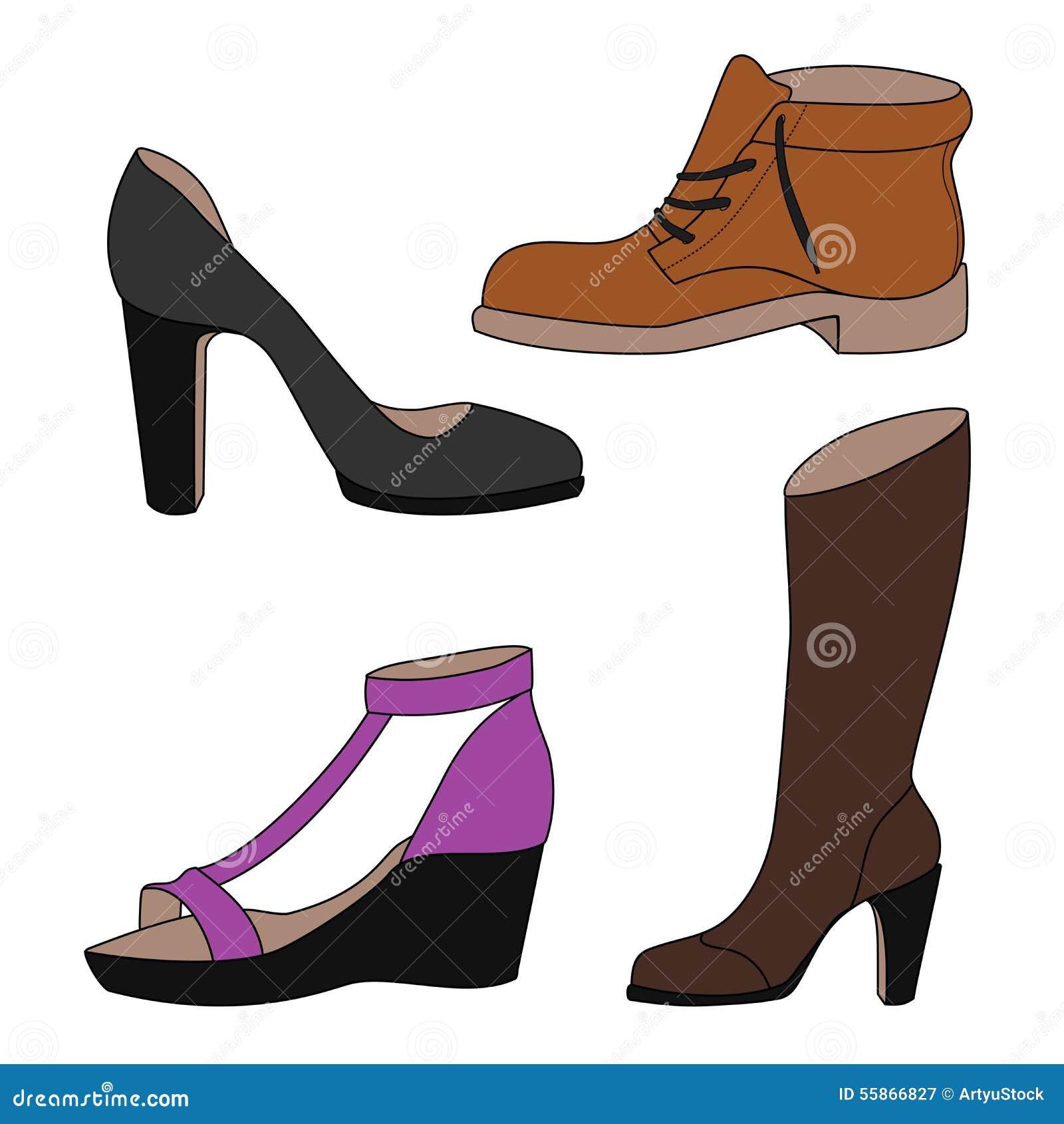 Wonderful Set Of Women39s Shoes Stock Photo  Image 35481010
