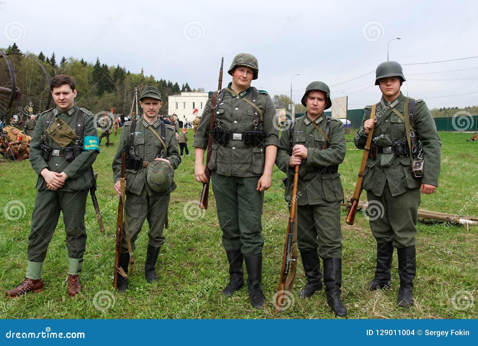 Reenactment Of World War II Events  Editorial Stock Image - Image of