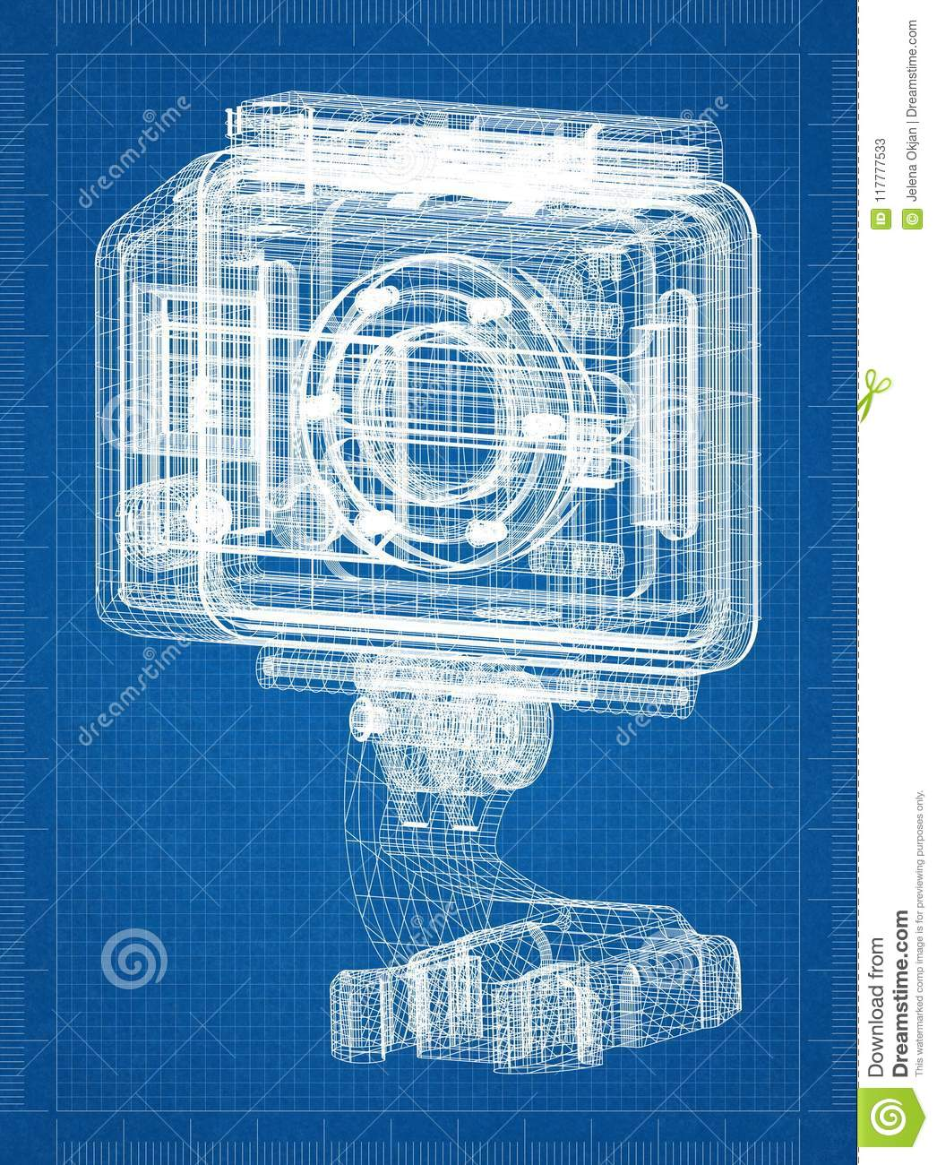 Action camera architect blueprint stock illustration illustration download action camera architect blueprint stock illustration illustration of drawing engineering 117777533 malvernweather Image collections