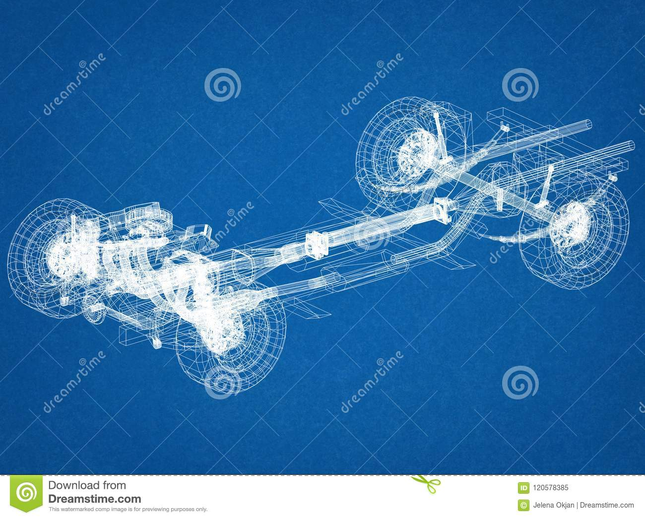 Car chassis and engine design blueprint stock illustration download car chassis and engine design blueprint stock illustration illustration of design engine malvernweather Images