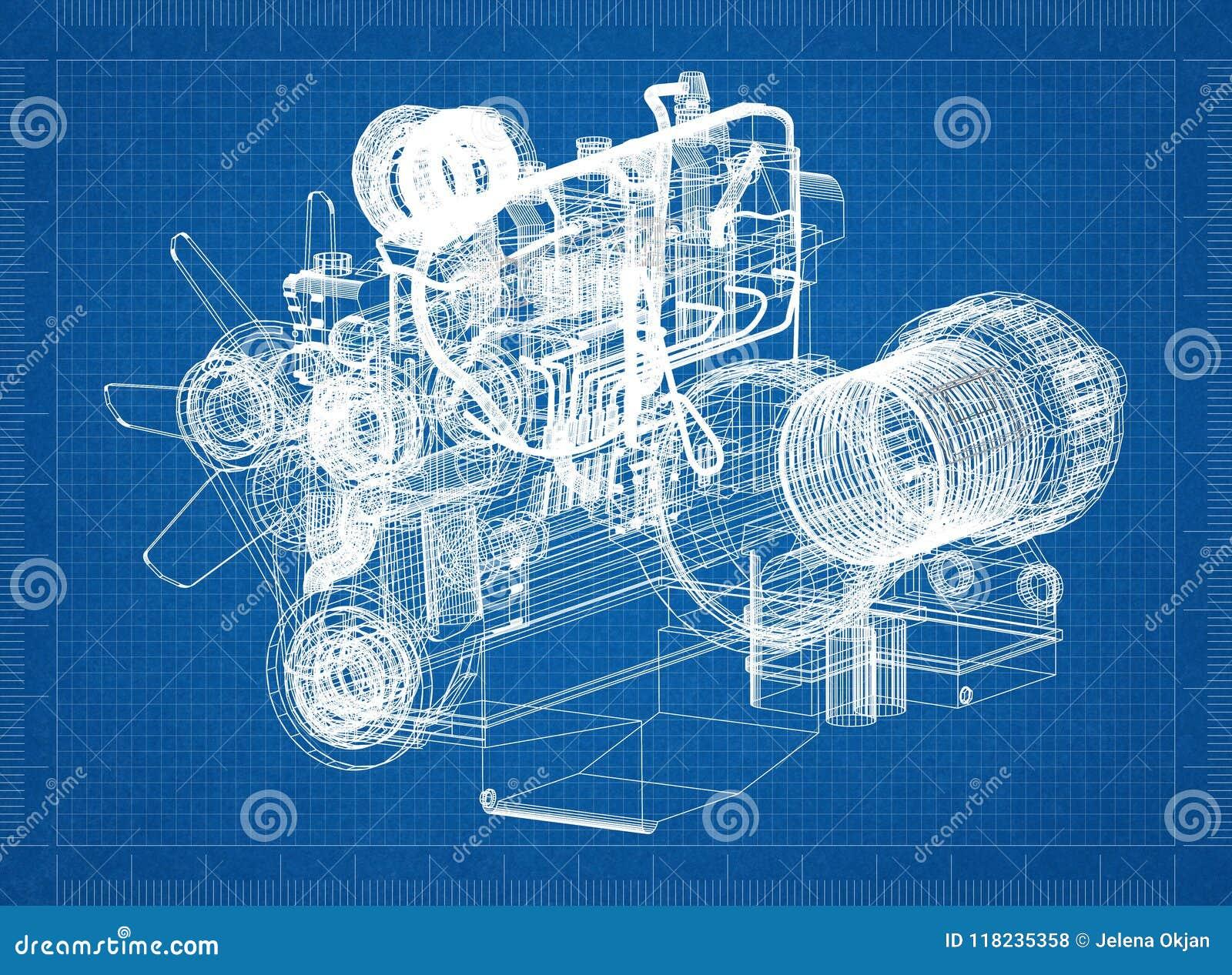 Car engine blueprint stock illustration illustration of gear download car engine blueprint stock illustration illustration of gear 118235358 malvernweather Choice Image