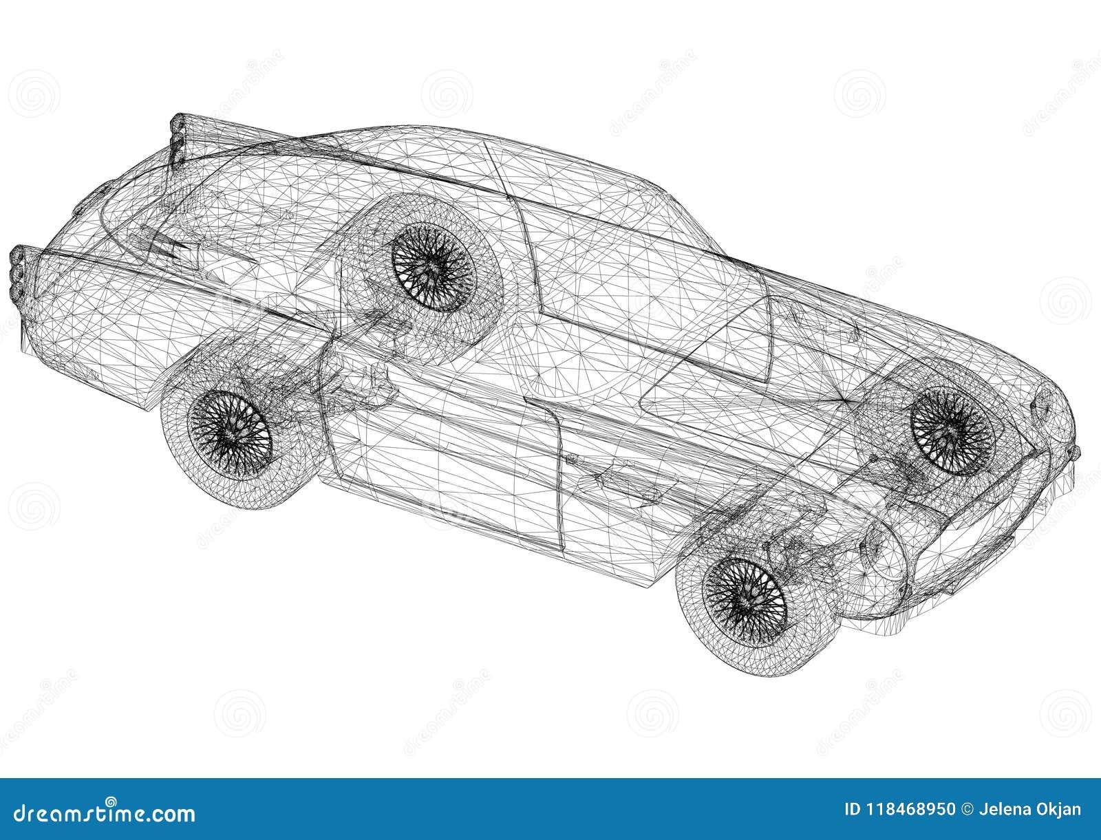Old car architect blueprint stock illustration illustration of download old car architect blueprint stock illustration illustration of design geometry 118468950 malvernweather Choice Image