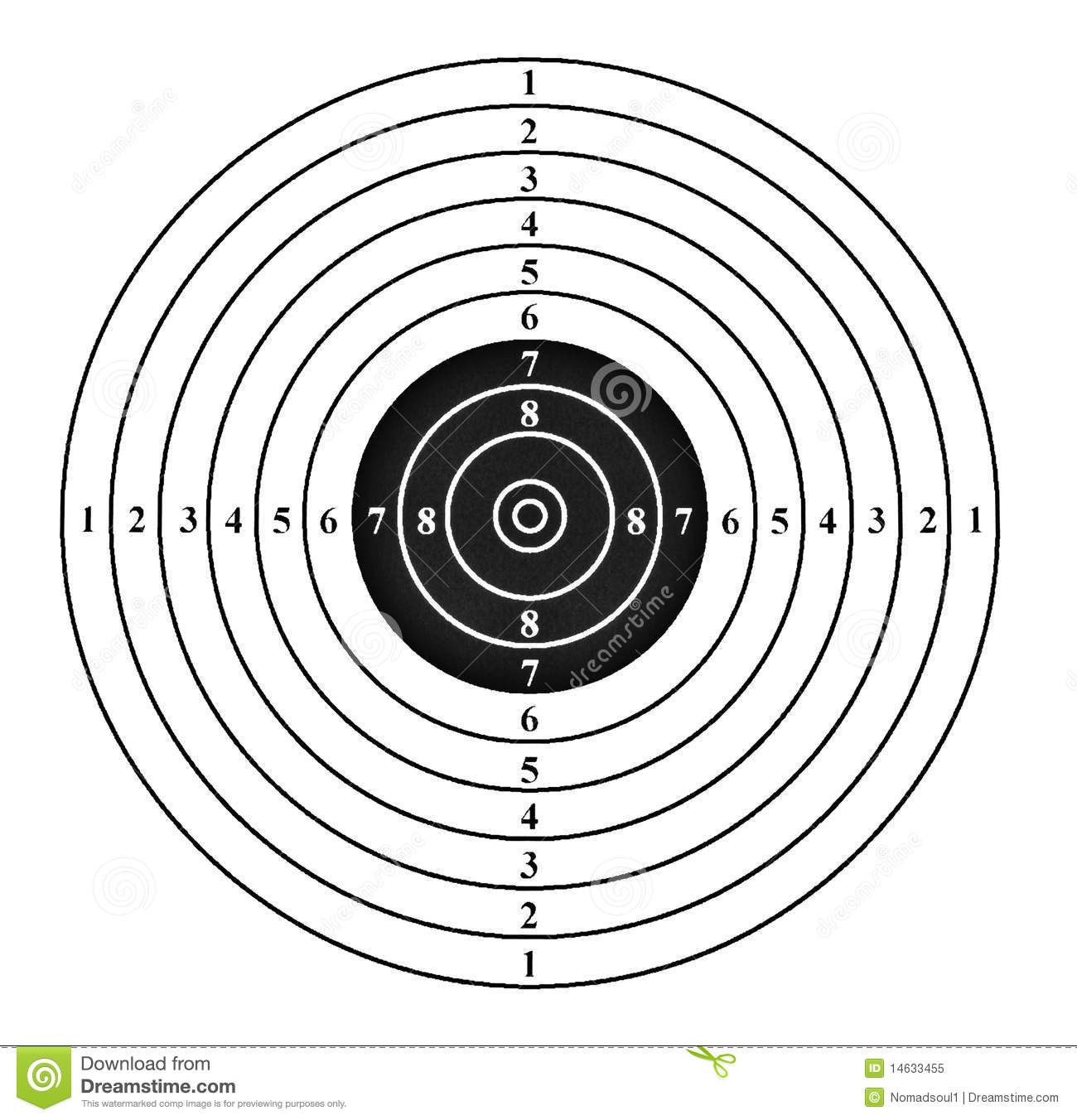 It's just a graphic of Selective Free Printable Targets 8.5x 11