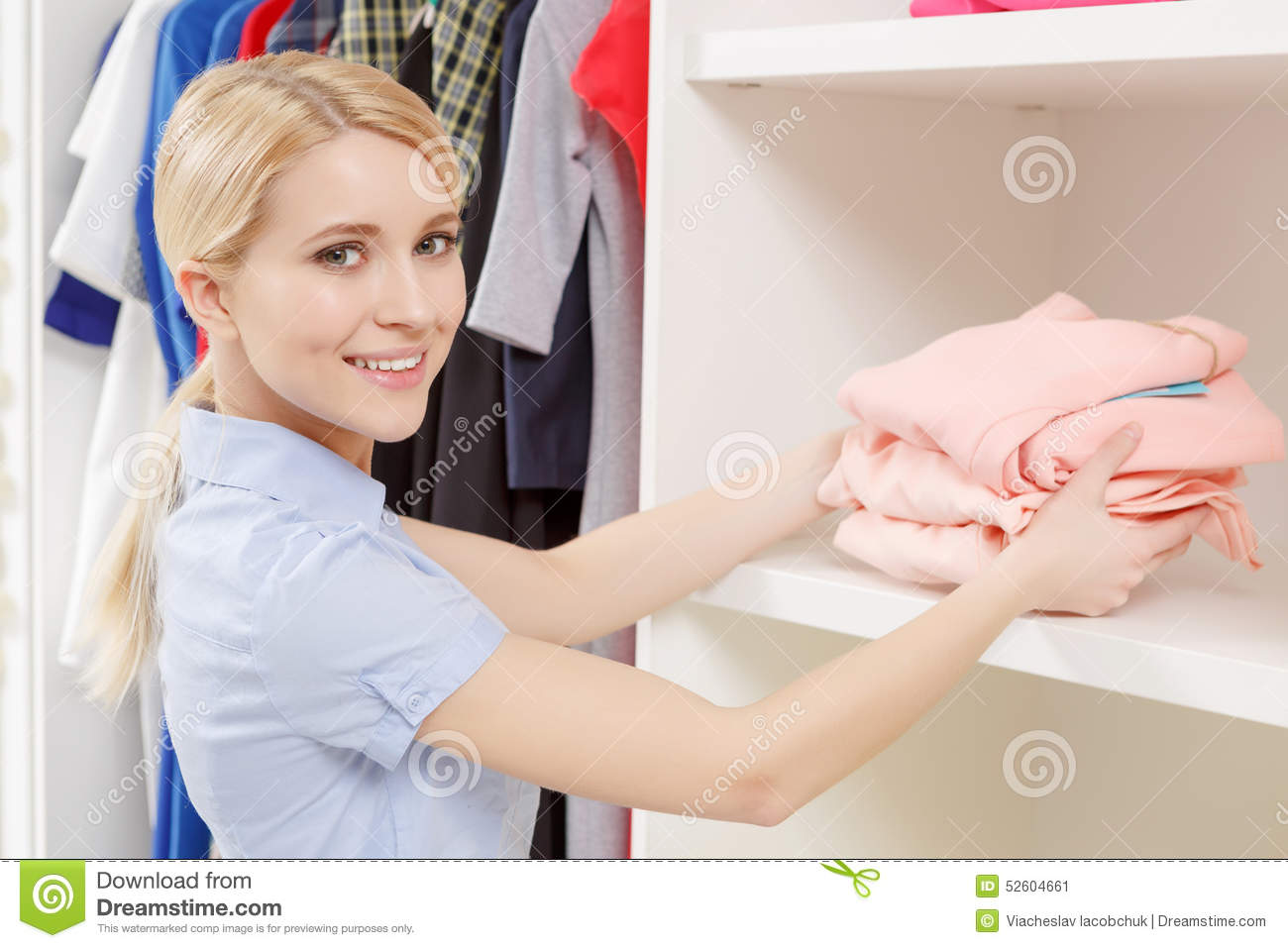 shop assistant in a store stock photo image  shop assistant in a store