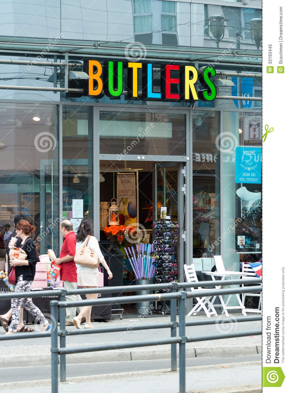 Shop Butlers On Friedrichstrasse Editorial Image Image Of Home