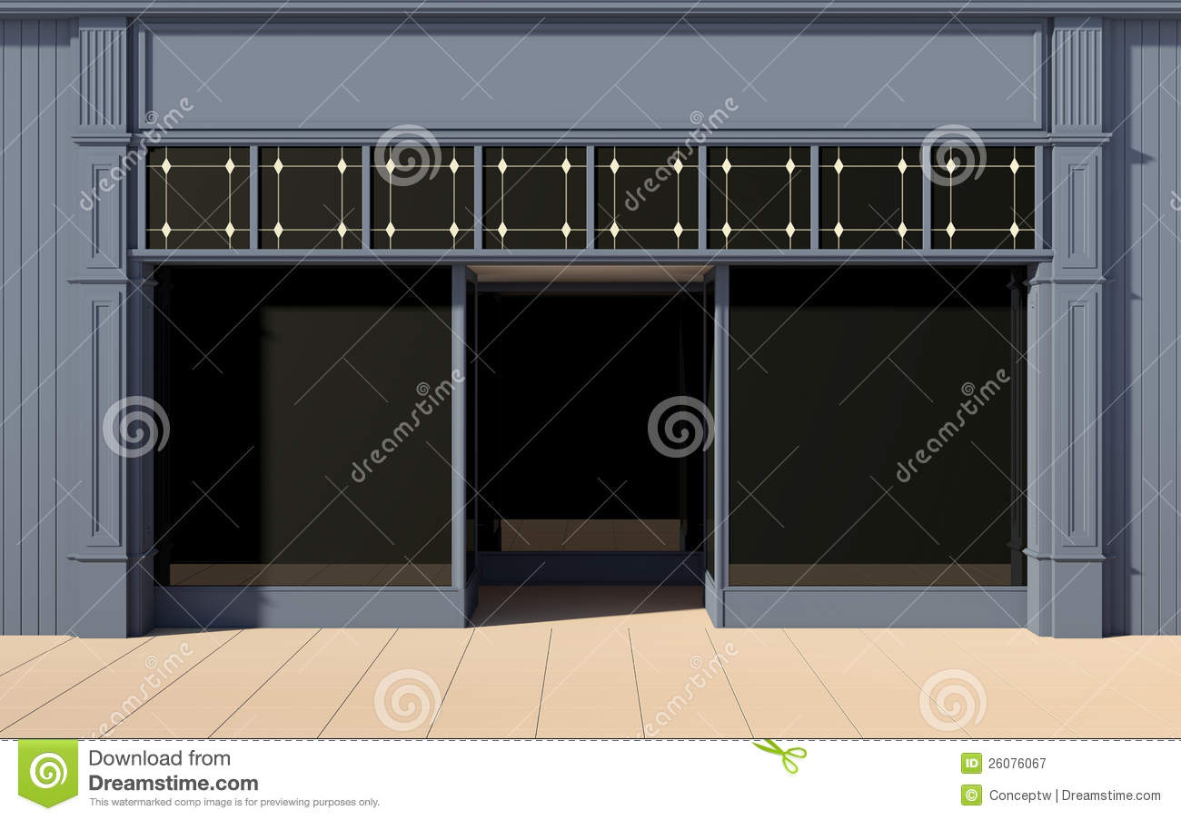 Shop Front Facade Royalty Free Stock Photography Image