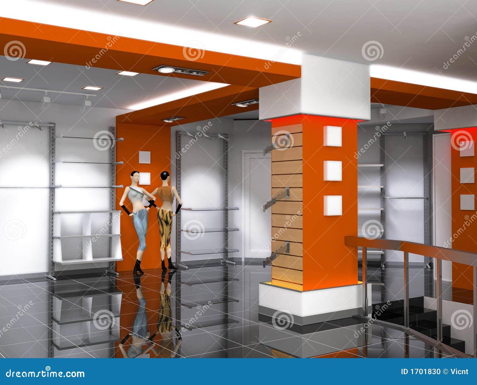 Shop Interior Stock Photo Image 1701830