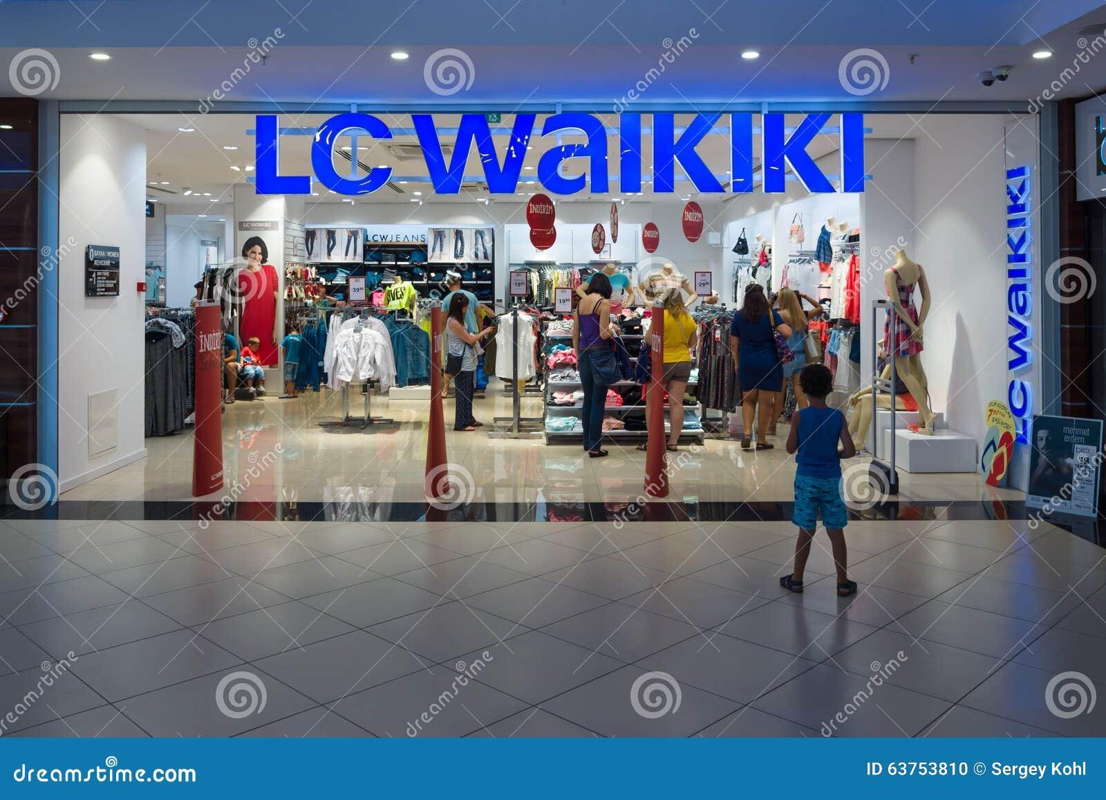 the shop lc waikiki editorial image image 63753810. Black Bedroom Furniture Sets. Home Design Ideas