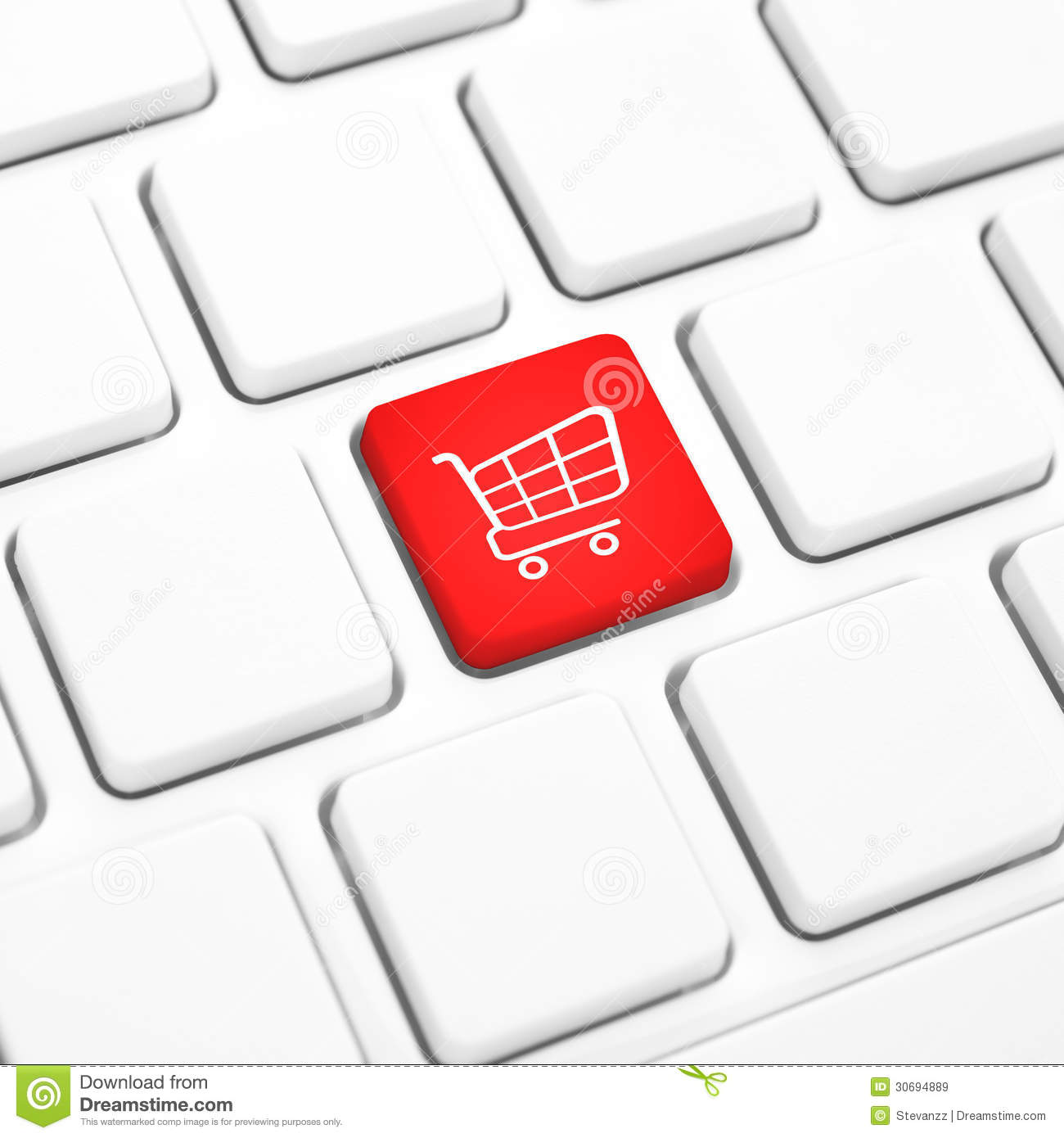 shop online business concept red shopping cart button or. Black Bedroom Furniture Sets. Home Design Ideas