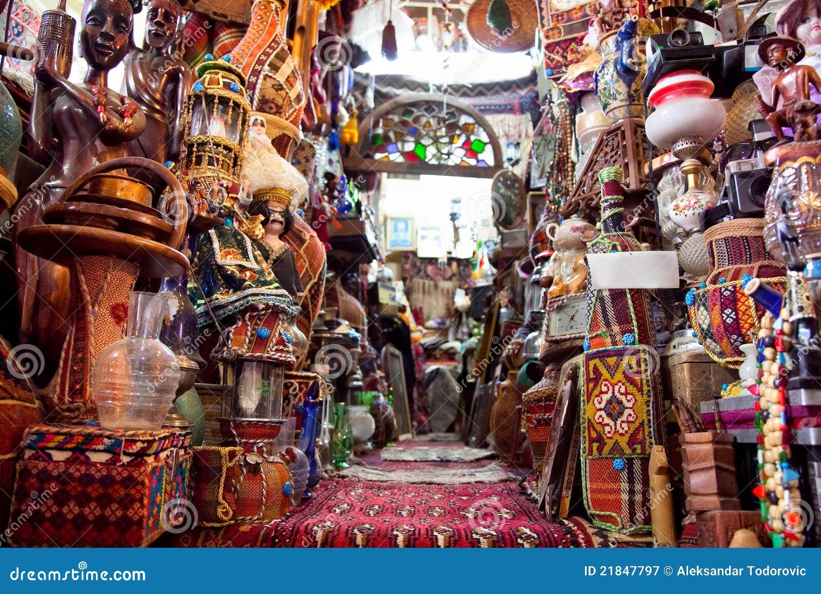 Shop Of Persian Carpets Shiraz Iran Stock Image Image