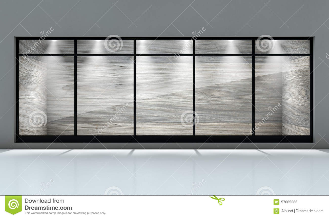 shop window display stock photo image of floor showcase 57865366. Black Bedroom Furniture Sets. Home Design Ideas