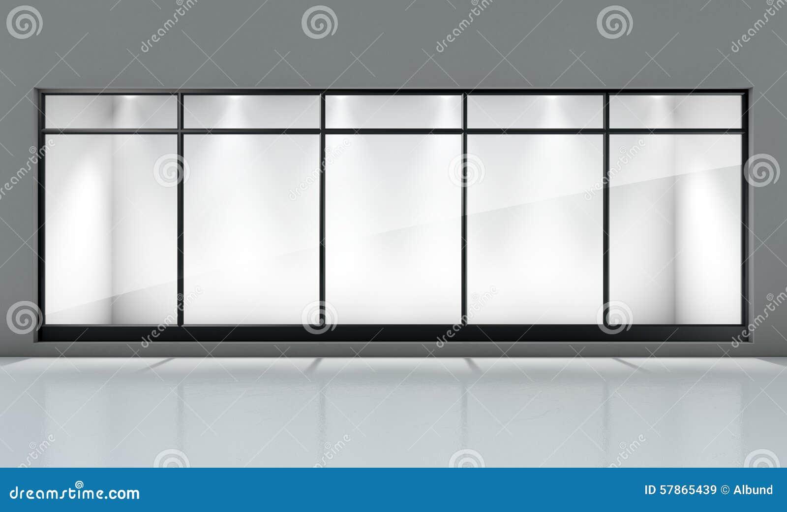 Shop Window Display Stock Photo Image 57865439